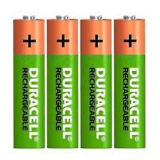 4 x Duracell AAA 800 mAh Pilas Recargables, HR03, DC2400, estancia cargado