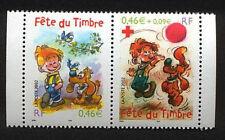 Y&T n° P3467a La paire  journée du timbre 2002  NEUF **