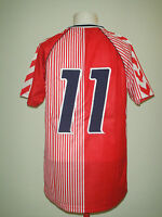 DENMARK 1986 #11 LAUDRUP FOOTBALL SHIRT RETRO HUMMEL ORIGINAL