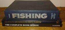 3 Vtg Fishing Books