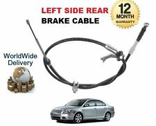 FOR TOYOTA AVENSIS 1.6 1.8 2.0 2.4 2.0 2.2 D4D 2003-2009 REAR LEFT BRAKE CABLE