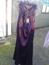 WOMENS/LADIES FRANK USHER SLEEVELESS PURPLE DRESS *NEW* - SIZE LARGE (14/16)