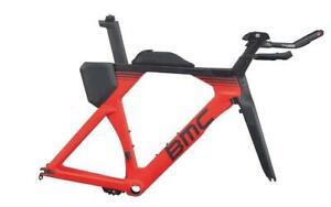 2018 BMC TIMEMACHINE 01 TRI FRAMESET TT Triathlon Carbon Race Bike Size M-short