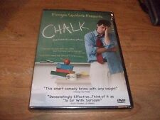 Chalk: Real Teaching Leaves A Mark (DVD, 2007) Morgan Spurlock Comedy Movie NEW