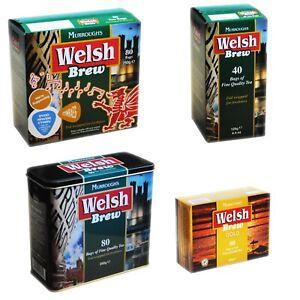 Welsh Brew Tea Bags By Murroughs Of Abertawe Paned Cymreig Free UK Postage