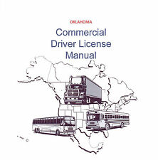 COMMERCIAL DRIVER'S MANUAL FOR CDL TRAINING (OKLAHOMA) ON CD IN PDF PROGRAM.