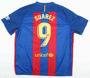 *NEW* Luis Suarez Signed FC Barcelona NIKE Jersey Beckett COA
