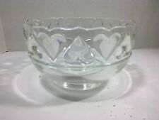 Vintage Genuine Tiffany & Co. heart rimmed  bowl (8 x 4 in) Made in Germany