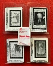 Showgard Stamp Mounts 36X55, 45x30, 36x36, 30x45,25/40,  5 different size