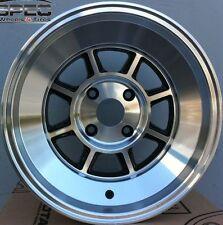 15X9 ROTA SHAKTAN 4X114.3 +0 FULL ROYAL BLACK FITS AE86 280Z 240SX