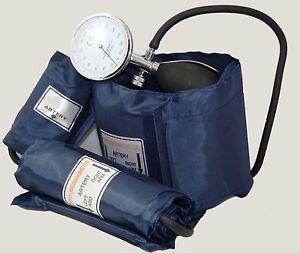 ICE Medical Blood Pressure Kit - Sphygmomanometer 3 cuffs Baby Child Adult inc