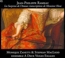 NEW - Surprises De L'Amour by Rameau; Zanetti; Macleod