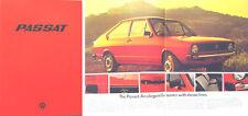 VW Volkswagen Passat Mk 1 LS L N 1975-76 Original UK Brochure No. 583/119.023.25