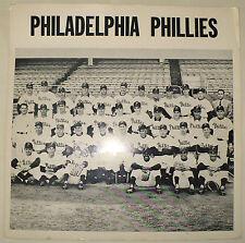 ANTIQUE 1957 ORIGINAL PHILADELPHIA PHILLIES BASEBALL TEAM PHOTO