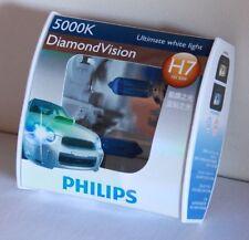Genuine Philips H7 12V 5000K 55W Diamond Vision Bulbs