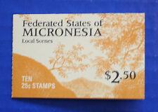 Micronesia (#36a) 1988 Local Scenes MNH booklet