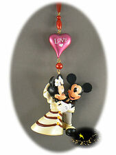 Disneyland Paris - Mickey & Minnie Wedding / Christmas Ornament - Xmas + Map