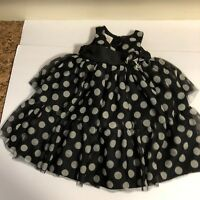 Holiday Editions Infant Sz 12 Mos Boutique Style Fancy Girls Dress Toule