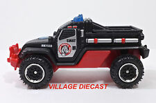 "2015 Matchbox ""Mission Force: Police Response"" Road Raider™ MATTE BLACK/MINT"