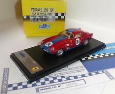 rare BBR 75L Ferrari 250 GT Berlinetta TdF Tour de France 1958, 1:43 n ilario mr