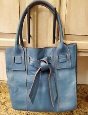 Tod's Blue Leather Handbag, Gorgeous Color