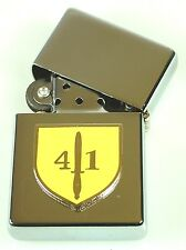41 COMMANDO ROYAL MARINES  WINDPROOF CHROME PLATED LIGHTER