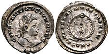 CONSTANTINE II (323-324 AD) Ae3 Follis. London #MU 5866