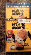 The Peanuts Movie 3D(Blu-ray,2016+Digital Copy;3D)NEW Authentic US Release