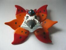 VOLCARONA stamped Tomy plastic Pokemon figurine about 1.75 inches tall