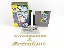 "Nintendo Entertainment System Spiel "" Batman Return of the Joker "" 
