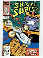Silver Surfer #34 Thanos Returns Death Appearance Jim Starlin Ron Lim