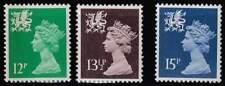 Wales postfris 1980 MNH 28-30 - Koningin Elisabeth II