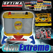 OPTIMA D34 YELLOW TOP BATTERY 12 VOLT NEW AGM 750CCA DEEP CAR AUDIO BIG SOUND
