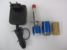 Detachable GLOW PLUG IGNITER/SANYO 2500mah battery(metal back caps)+220V charger