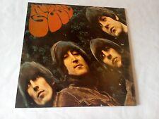 Los Beatles Rubber Soul cerca de Menta LP de vinilo disco PC 3075 década de 1970 reedición