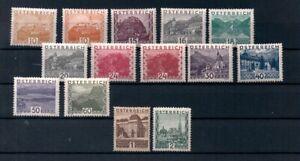 Austria 1929 MH Landscapes