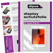 2x Apple iPad Air screen protector protection guard crystal clear