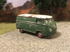 1960 Volkswagen Van Rusty Weathered 1/64 Custom Barn Find Diecast VW Bus