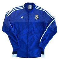 REAL MADRID ANTHEM ADIDAS JACKET MENS SMALL