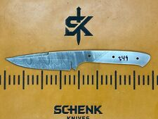 Hyper Strike Ribbon Damascus High Carbon Steel Knife Blade Blank Billet 349