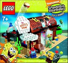 LEGO SpongeBob SquarePants 3825 Krusty Krab Instructions