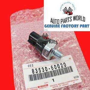 GENUINE TOYOTA CAMRY LEXUS OIL PRESSURE SENDING UNIT 83530-60020 / 83530-0E010