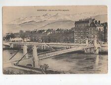 GRENOBLE - The new bridge suspendu (A7768)