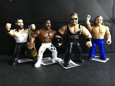 WWE Mattel COMPLETE SET Retro Figure Series 10 LOOSE Diesel/JYD/Elias/Hardy