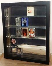Les Collectionneurs Vitrine Noir Pour 30 ZIPPO GLACE POLIE Mur Arrière Neuf + neuf dans sa boîte NEUF ET Neuf dans sa boîte