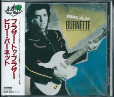Billy Burnette Brother to Brother Japan CD w/obi aor R25P-2002
