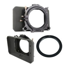 """Genustech GWMC Wide Angle Matte Box for 4 x 4"""" Filters + Adapter Ring 77mm Kit"""