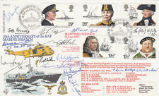 RFDC12 Maritime Heritage Full Set Signed 14, 12 WW11 Naval Veterans