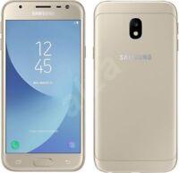 NEW SAMSUNG GALAXY J3 2017 SM-J330F 16GB UNLOCKED 4G LTE 13MP GOLD BLACK BLUE