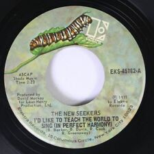 Pop 45 The New Seekers - I'D Like To Teach The World To Sing (In Perfect Harmony